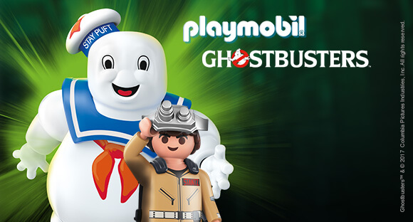 NEW IN GHOSTBUSTERS PLAYMOBIL