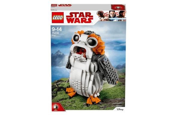LEGO PORG STAR WARS : THE LAST JEDI PORG