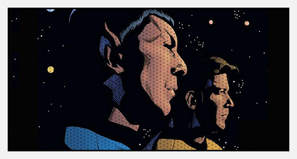 STAR-TREK graphic novels