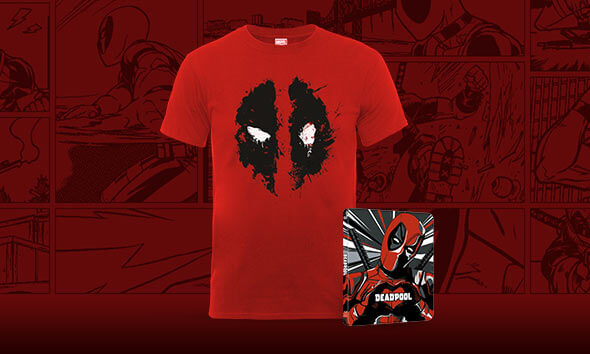 DEADPOOL 4K STEELBOOK & T-SHIRT