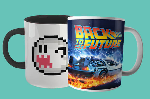 4 Mugs for £17.99 + Free coasters