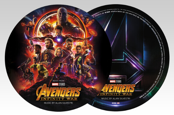 LIMITED EDITION PICTURE DISC VINYL SOUNDTRACK