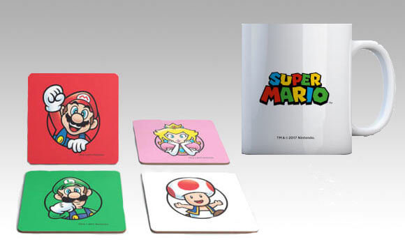 OFFICIAL NINTENDO MUG & COASTER