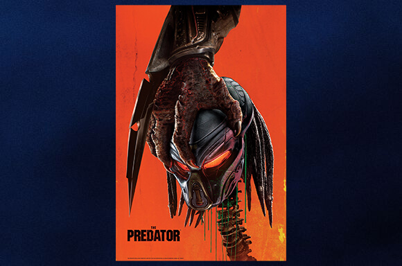 THE PREDATOR 2018 MOVIE POSTER ART GICLEE PRINT