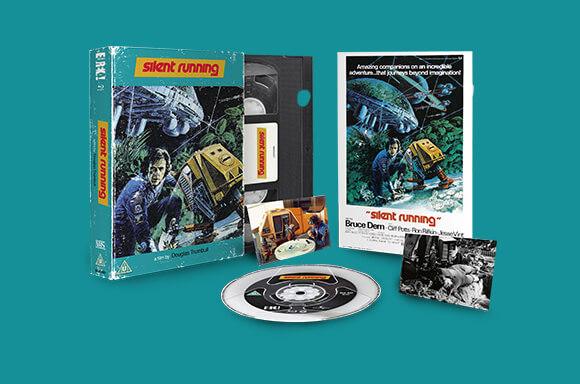 SILENT RUNNING VHS