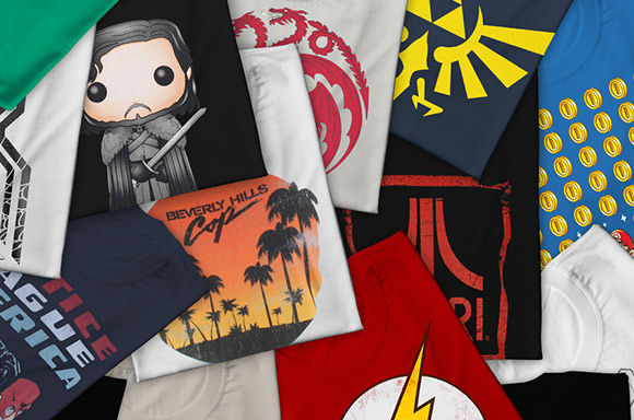 MYSTERY GEEK T-SHIRTS + FREE ZBOX!