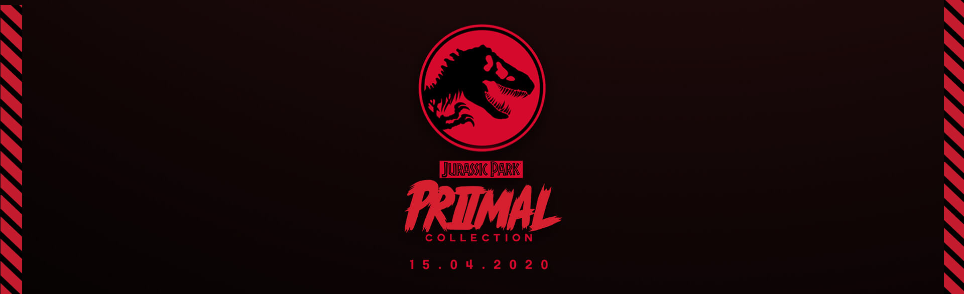 JURASSIC PARK PRIMAL COLLECTION SIGN UP