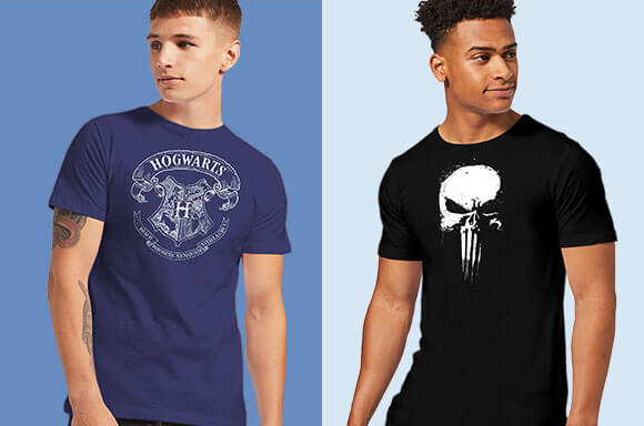 BUY 2 T-SHIRTS <br>& GET 1 FREE!</br>