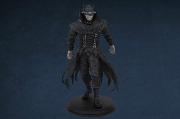 DC COMICS BATMAN WHO LAUGHS STATUE