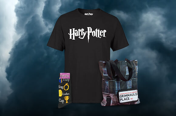 HARRY POTTER T-SHIRT, SOCKS & TOTE BAG