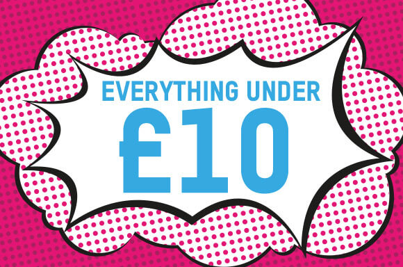 EVERYTHING UNDER £10