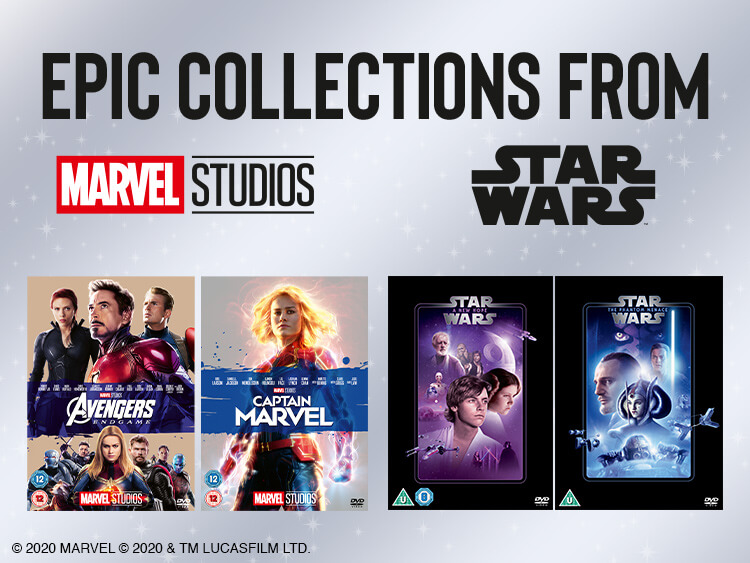MARVEL, STAR WARS & FOX MULTI-BUY