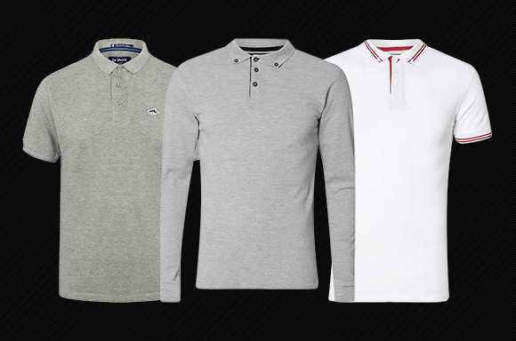 2 FOR £16 POLO SHIRTS