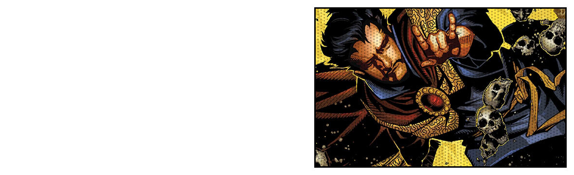 GRAPHIC NOVELS - DOCTOR STRANGE