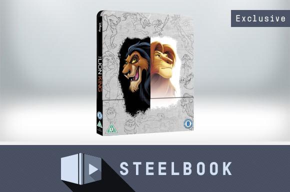LION KING 4K ULTRA HD STEELBOOK