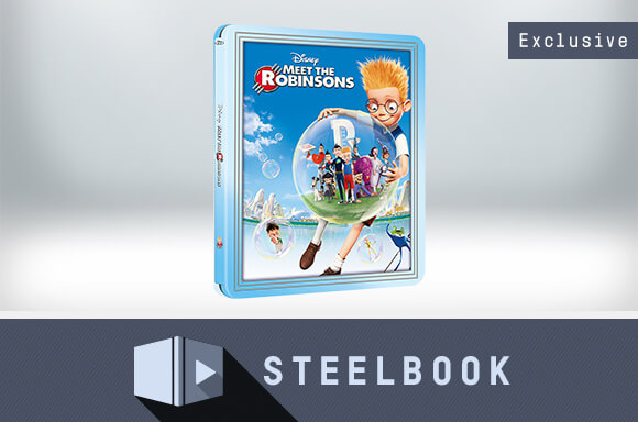 MEET THE ROBINSONS LIMITED EDITION STEELBOOK
