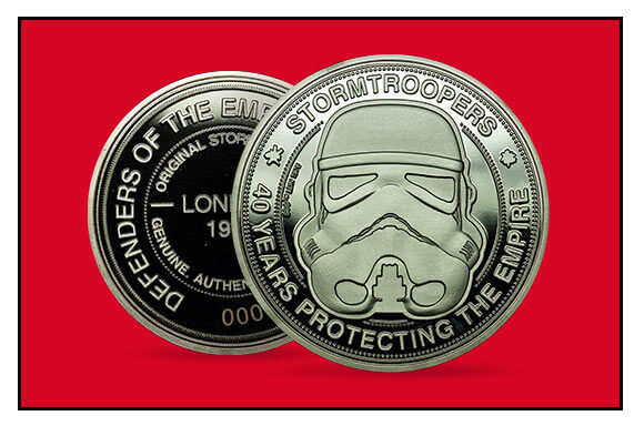 LIMITED EDITION STORMTROOPER COIN