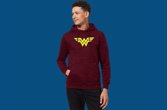 ONLY £17.99!<BR>DC COMICS HOODIES