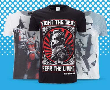 GEEK T-SHIRTS: 2 FOR £16