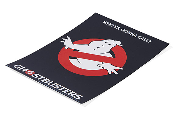 Ghostbusters Postcard