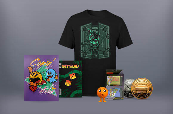 NOSTALGIA ZBOX WITH EXCLUSIVE BTTF COIN