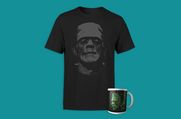 Frankenstein T-Shirt & Mug for only £8.99