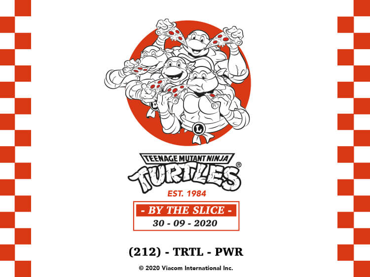 TMNT BY THE SLICE COLLECTION