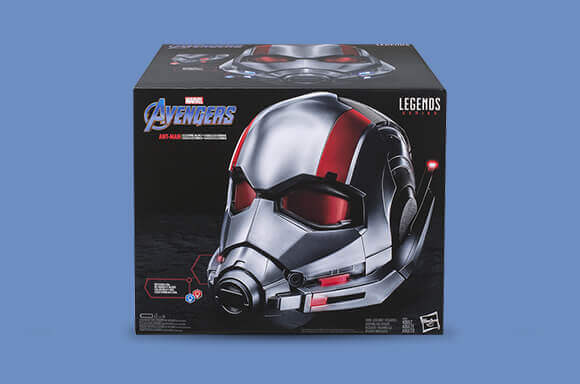 MARVEL LEGENDS<br />ANT-MAN REPLICA HELMET