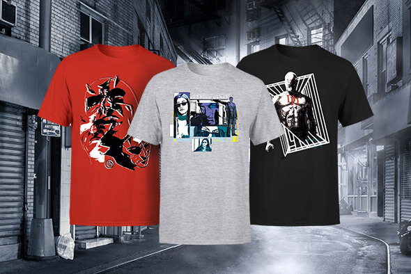 MARVEL KNIGHTS LICENSED APPAREL