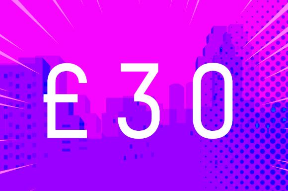 UNDER £30