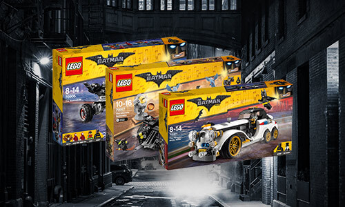 BATMAN: LEGO + FREE MINI-FIGURE
