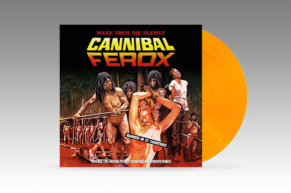CANNIBAL FEROX: THE ORIGINAL 1981 MOTION PICTURE SOUNDTRACK