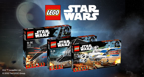 NEW IN: LEGO STAR WARS