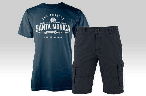 T-SHIRT & SHORTS ONLY £25!