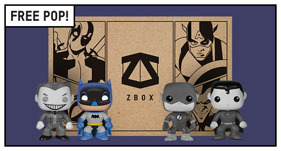 DC COMICS ZBOX OFFER