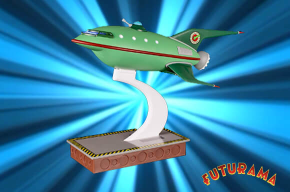 Futurama Planet Express Ship