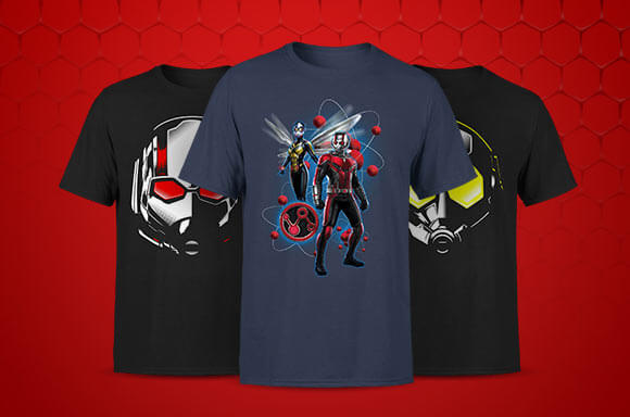 ANT-MAN AND THE WASP LICENSED APPAREL