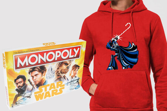 FREE HAN SOLO MONOPOLY WITH STAR WARS HOODIE