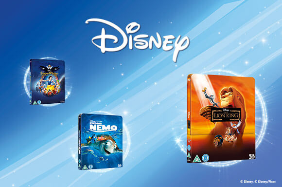 Disney Steelbooks