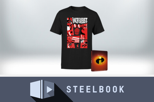 STEELBOOK & T-SHIRT FOR ONLY £32.99