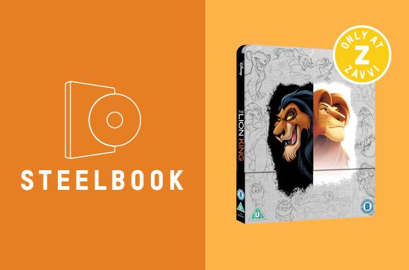 LION KING 4K STEELBOOK & T-SHIRT