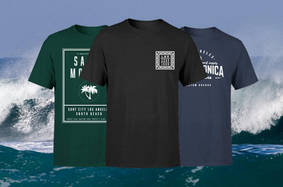 3 FOR £20 T-SHIRTS!