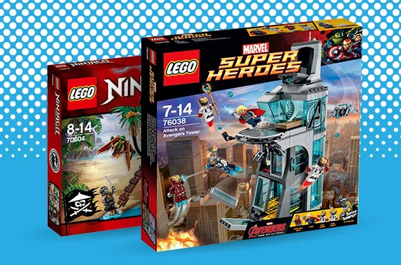 UP TO 15% OFF LEGO