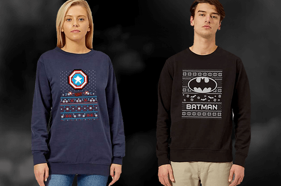 CHRISTMAS JUMPERS FROM<BR>ONLY £11.99