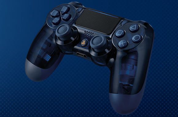 500 MILLION LIMITED EDITION DUALSHOCK