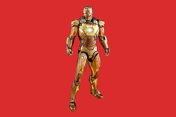 Figura de Acción Hot Toys Marvel Iron Man Mark XXI (Midas) Escala 1:6