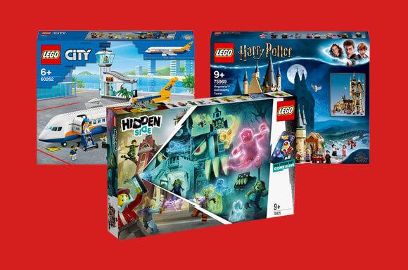 15% en una selección de LEGO