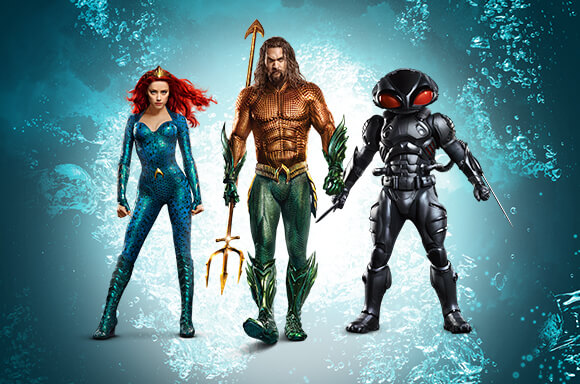 Merchandising AQUAMAN