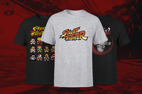 ROPA OFICIAL STREET FIGHTER