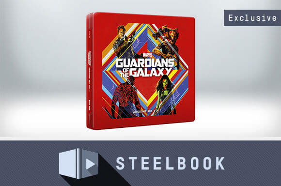 CD STEELBOOKS GUARDIANES DE LA GALAXIA